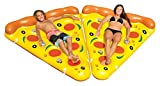 Swimline Inflatable Pizza Slice Swimming Pool Float, 2-Pack