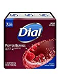 Dial Glycerin Soap Bars with Power Berries, 4 oz bars, 3 ea (Pack of 3)
