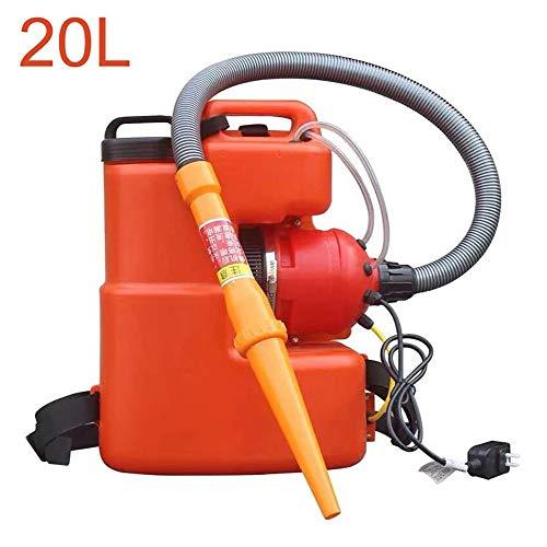 Wgwioo 20L Elektrisches ULV Sprühgerät, Tragbare Nebelmaschine Für Die Desinfektion Von Gärten Für Öffentliche Innen Und Außenbereiche, Büro Industriehygiene