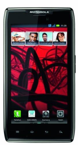 Motorola RAZR Maxx Smartphone (10,9 cm (4,3 Zoll) AMOLED-Touchscreen, 8 Megapixel Kamera, Android 4.0 OS) schwarz