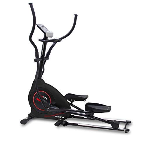 BH Fitness Easy Flex G852 Bicicleta eliptica magnetica Plegable. 20 Kg. 45 cm. Programas predefinidos y Personalizables