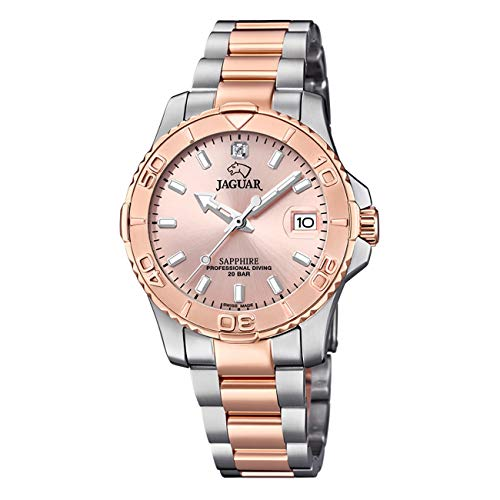 JAGUAR Reloj Modelo J871/4 de la colección Woman, Caja de 34 mm Rosa con Correa...
