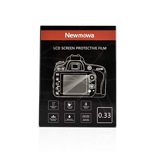 Newmowa Screen Protector (2-Pack) for Olympus PEN E-P5 E-PL7 E-PL8 E-PL9 OM-D E-M1 E-M5 E-M10 II E-M10 III and Canon PowerShot G7 X Mark II, 9H Hardness Waterproof Anti-Scratch Screen Protector for DSLR Camera