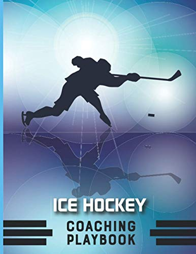 Ice Hockey Coaching Playbook: Hockey practice plan journal to keep your hockey practice organized. This book is measured at 8.5x11 and has 100 pages ... laptop bag Ice hockey Coach thank you gift