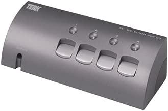 Terk VS-4 S-Video/Video/Audio Switch Selector