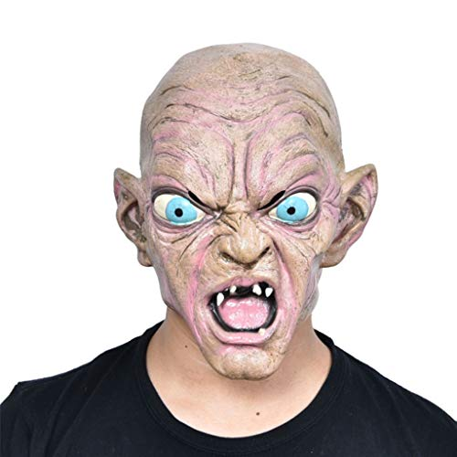 Glzcyoo Halloween Masker Terrorist Hoofddeksels Enge Volwassen Vrouw Grimace Fancy Dress Party Demon Death Latex Masker, halloween Masker Halloween Kostuum Masker Cosplay Party Maskers