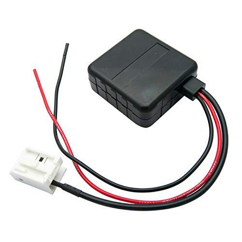 module Bluetooth de voiture, Maso E60 radio adaptateur de câble auxiliaire stéréo mini Car Kit adaptateur récepteur audio filtre pièces radio avec filtre d'entrée audio sans fil