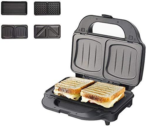 Dr.Sprayer Brotmaschine Blumen Waffeleisen, Gasherd Sandwich Toaster, Antihaft-Gitter Muffinform, Camping Grill Toast