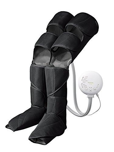 パナソニック エアーマッサージャー レッグリフレ ひざ/太もも巻き対応 温感機能搭載 ブラック EW-RA96-K
