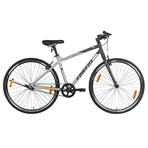Firefox Bikes Voya 700C Single Speed Hybrid Bike (Matt Grey) I Alloy Bike I First Free Service available