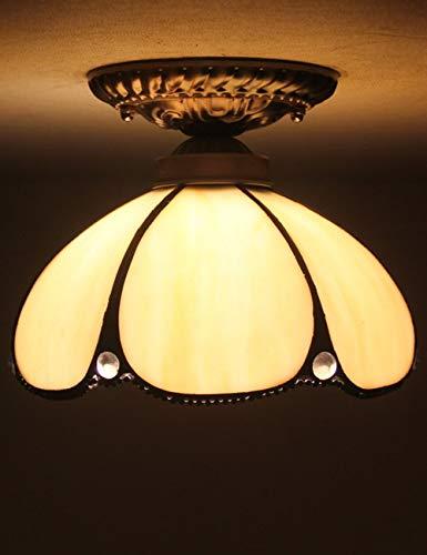 Lámpara de techo moderna y minimalista europea de 8 pulgadas Lámpara de techo con luz de techo curvada