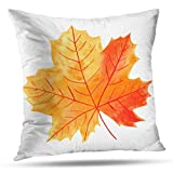 shotngwu Autumn Harvest Decorative Throw Funda de Almohadas Cover, Thanksgiving Autumn Fall Banner Flyer Greeting Birthday Holiday Cushion Cover for Bedroom Sofa Living Room 18X18 Inches