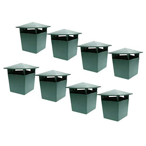 VANKOA - Jaula de caracoles ecológica (8 unidades)