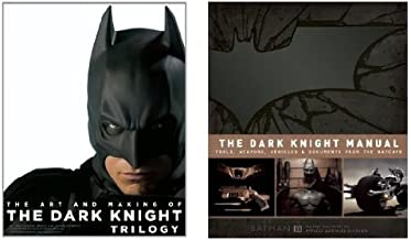 The Dark Knight Trilogy & Manual 2 book set: The Art and Making of The Dark Knight Trilogy and Tools, Weapons, Vehicles and Documents from the Batcave