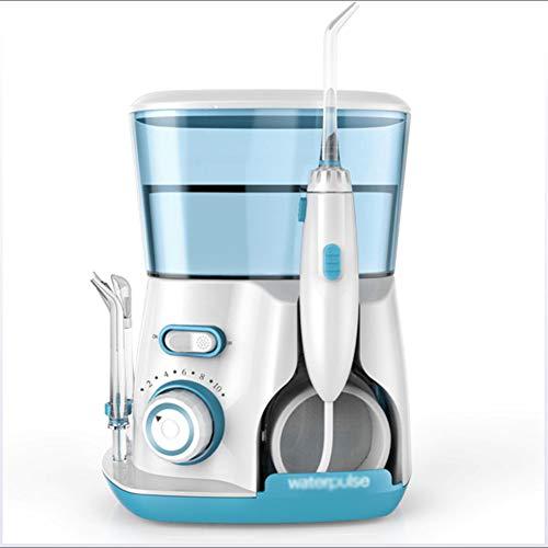 SXFYQ Elektrische monddouche met 5 roterende sproeiers en 800 ml watertank voor draagbaar huishoudelijk water