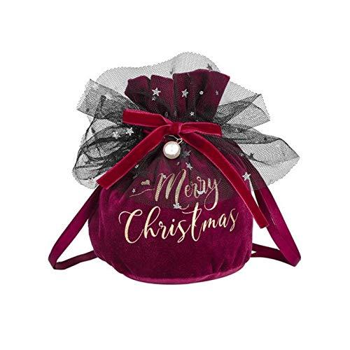 LGW Suministros de Fiesta de Vacaciones Bolsa de Navidad Bolsa Artículos de Decoración de Caramelo niños del Bolso decoración del hogar Accesorios Muy Adecuado