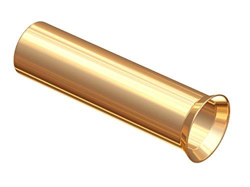 Rembus Aderendhülse RAH-4.0 | vergoldet | 25 Stück | Querschnitt bis 4,0 mm²