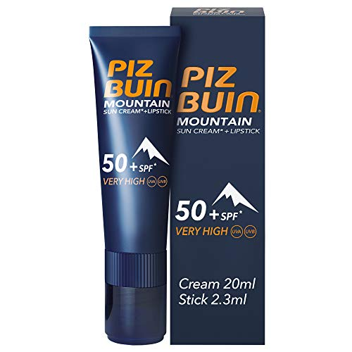 Piz Buin Mountain Sun Cream + Lipstick SPF 50+ 20 ml