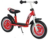 Disney Boy Eva Luxury - Bicicleta de Metal, Color Rojo
