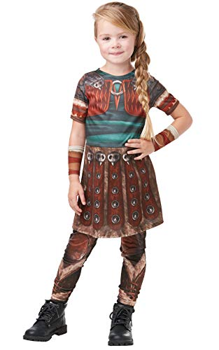 Rubies 641469L How to Train Your Dragon Fancy Dress, Niñas, Multicolor