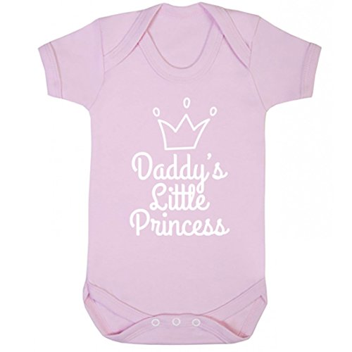 illustratedidentity Daddy's Little Princess Baby Vest Boys Girls