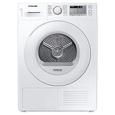 Samsung DV80TA020TH/EU Freestanding Heat Pump Tumble Dryer with Optimal Dry™, 8kg Load, White
