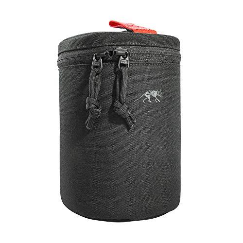 Tasmanian Tiger TT Modular Lens Bag M Gepolsterte Kamera Objektiv-Tasche mit Molle-System Objektiv-Hülle, Innenmaße 16 x Ø 9,5 cm (Schwarz)
