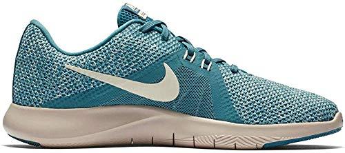 Nike Damen W Flex Trainer 8 Fitnessschuhe, Mehrfarbig (Celestial Teal/Guava Ice/Light Silver 400) 41 EU