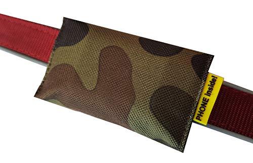 josi.li Funda de camuflaje para GPS Classic, Dog, Dog Batteries Plus, XL, nailon, resistente al agua, fácil de limpiar, compartimentos interiores (XL 80 x 49 x 29 mm, hasta 60 mm de ancho de collar).