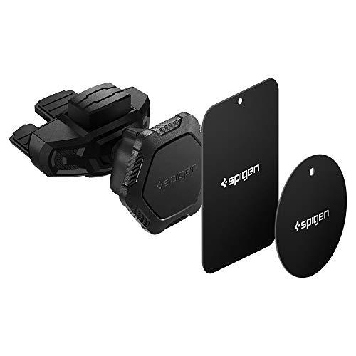 Spigen Kuel QS24 Car Phone Mount Magnetic CD Slot Phone Holder Compatible with Most Smartphones - Black