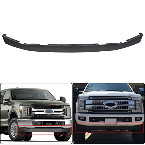 ECOTRIC Compatible Lower Deflector Valance Panel Replace for 2017 2018 2019 Super Duty F250 F350 F450 F550 2WD Replace for FO1095272 HC3Z17626AD
