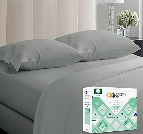 5-Star Hotel 600 Thread Count Best Bed Sheets, 100% Cotton Sheets Set...