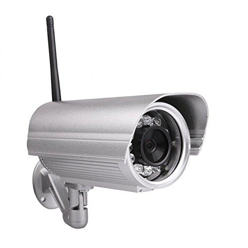 Foscam FI9804W Telecamera IP Impremeabile IP66 Megapixel HD H.264 Wireless Cavo con Filtro IR-Cut - 40 Metri Visione Notturna e Lente da 4mm (70° Gradi)