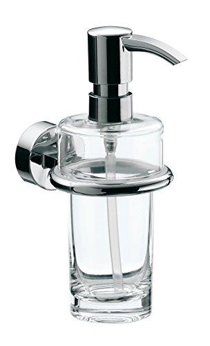 Emco 452100100 Fluessigseifenspender Rondo 2 Behaelter Kristallglas, klar, verchromt