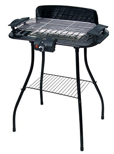 DCG BQS 2497 Barbecue elettrico 2000W con termostato e stand