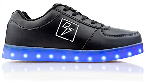 Electric Styles Light Up Shoes - Bolt Low Top