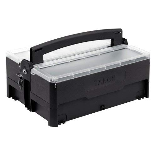 Systainer opbergbox, gereedschapskist, afsluitbaar, antraciet