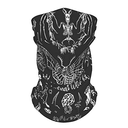 Kit de bruja profesional,conjunto enorme de artículos,animales,vida silvestre,gato,mascarilla,polaina para el cuello,pasamontañas,pañuelo para la cabeza,bufanda deportiva de enfriamiento de seda de hi