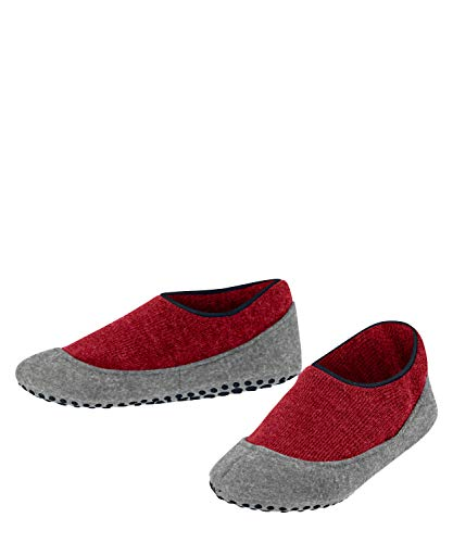 FALKE Unisex Kinder Cosy Slipper Stoppersocken, rot (red Pepper 8074), 25-26