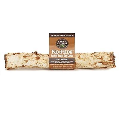 Earth Animal No Hide Venison Recipe Dog Chews, 7-Inch (12 Pack)