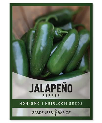 Jalapeno Pepper Seeds for Planting Heirloom Non-GMO Jalapeno Peppers Plant Seeds...