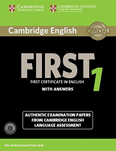 Cambridge first certificate in english. For updated exam. Self-study pack. Per le Scuole superiori. Con CD Audio. Con espansione online: Cambridge ... answers con audio CDs (2) [Lingua inglese]