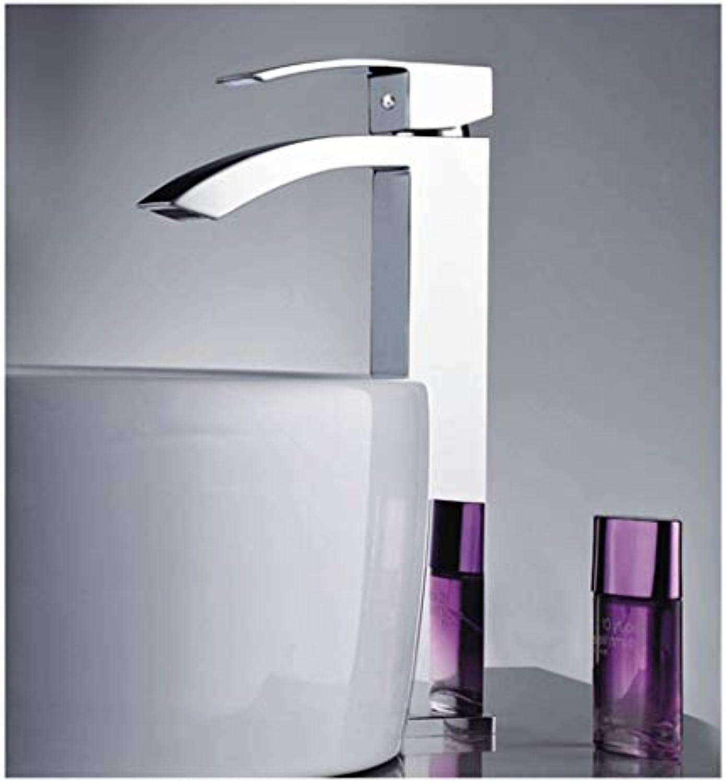HARDY-YI Wasserhahn - Alle Kupfer hei und kalt Einhand-Wasserhahn Hhe Kunst Bühne Waschbecken Wasserhahn -081 Wasserhahn