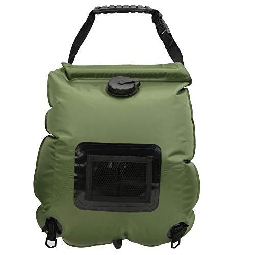 iFCOW Al aire libre portátil 20L calefacción solar agua caliente bolsa de ducha para acampar senderismo playa viajar