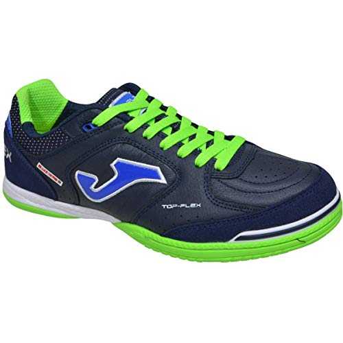 Joma Top Flex, Zapatilla de fútbol Sala, Navy-Blue, Talla 8 US (41 EU)
