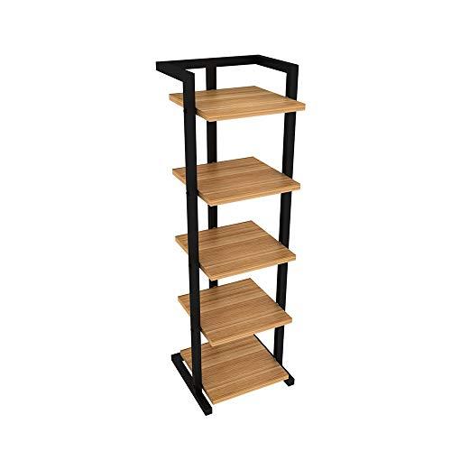 YAzndom Schoenenkast van ijzer, eenvoudig, voor thuis, deur, ruimtebesparend, meerlaags, eenvoudige schoen, modern dressoir van hout