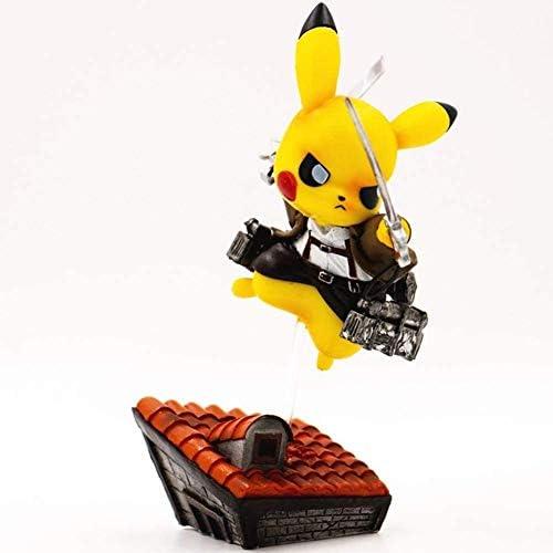Pikachu attack on titan