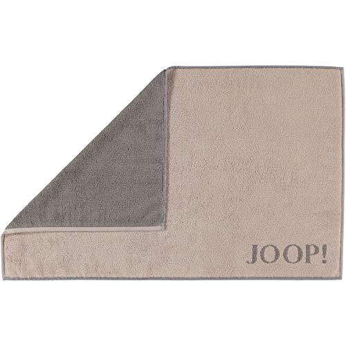 Joop! Badematte Classic Doubleface 1600 Sand/Graphit - 37 50x80 cm 50x80 cm