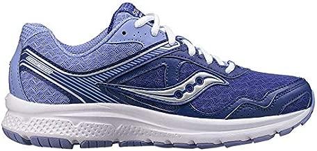 Saucony Women's Cohesion 10 Navy/Purple Running Shoe 8 M US