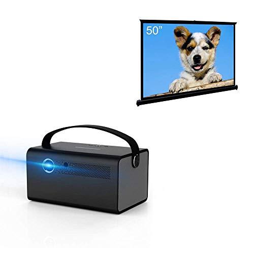 Cocar 3D DLP Projector V7丨50 Portable Projection Screen